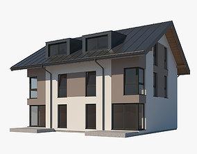 House 004 3D model exterior
