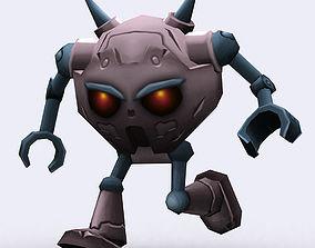 3DRT-Chibii-Robot-01 animated