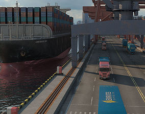 Shipping Port 3D