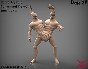 3D printable model Conjoined Monster