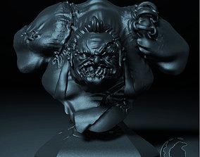 characters PUDGE BUST DOTA 2 3D printable model