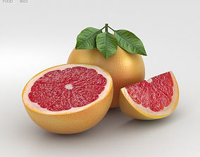 3D Grapefruit