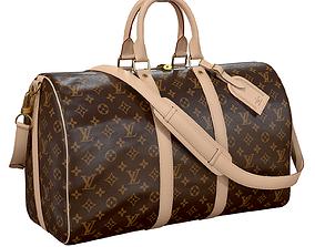 3D asset Louis Vuitton Bag Keepall Bandouliere 45 1