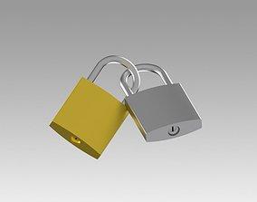 password 3D Padlock