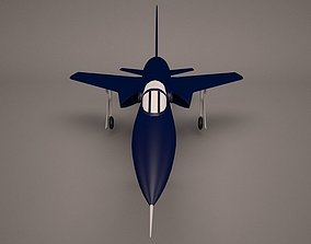 3D model Military Aircraft weapon
