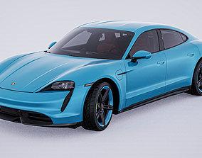 2020 Porsche Taycan Turbo S 3D