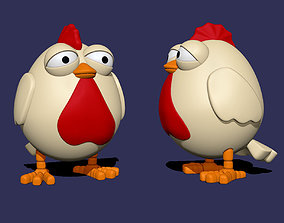 3D printable model Lazy Chicken