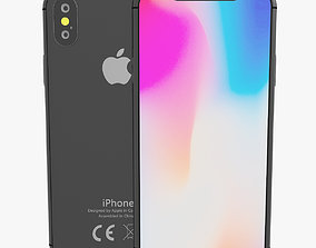 realtime iPhone X Model Vray