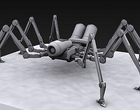 Spider robot 3D print model