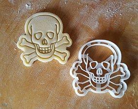 3D printable model Skull death poison cookie