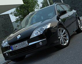 Renault Laguna Grandtour 2008 3D