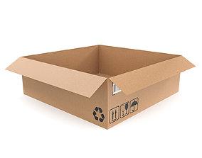 3D model PBR Cardboard box 22
