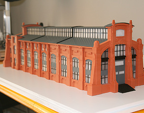 house Industrial Building 3DPrint Ready