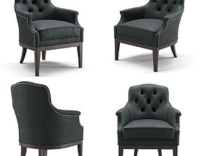 Rochebobois Manor Armchair 3D