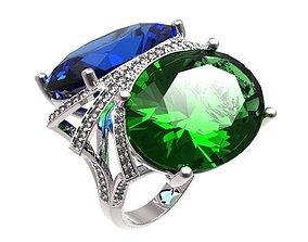jewellery Ring 3D print model