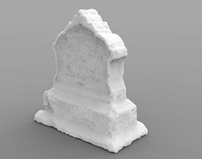 Weathered Memorial 3D print model