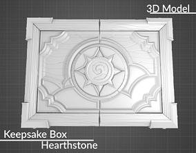 Hearthstone Keepsake Box 3D model 3D print model STL