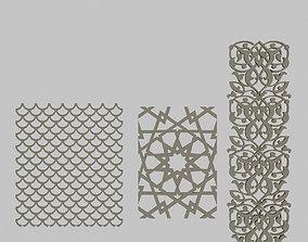 3D asset Classical Patterns