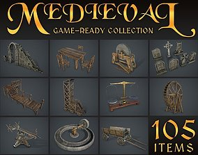 Medieval Collection 3D asset