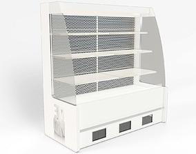Chiller cabinet shop display 3D model