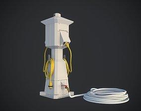 Marine Pedestal 3D model