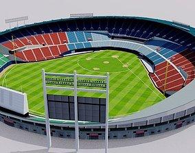 3D Jamsil Baseball Stadium - South Korea