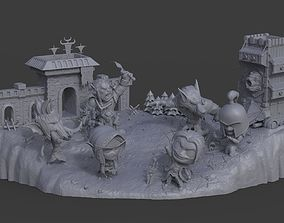 Battle for Azeroth - Chibi 3D print model