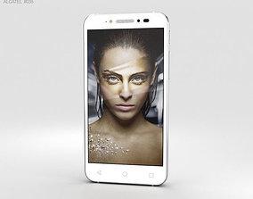 Alcatel Shine Lite Pure White android 3D