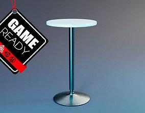 Standing Table 3D model VR / AR ready PBR