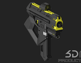 Machine Gun 3D Concept weapon
