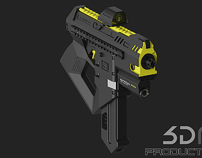 Machine Gun 3D Concept