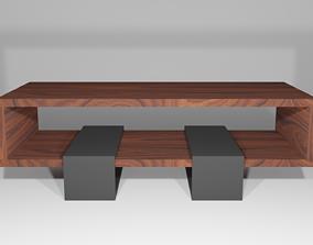 art Table 3D model game-ready