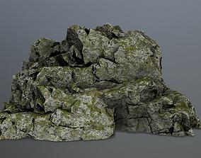 dune 3D asset game-ready rocks