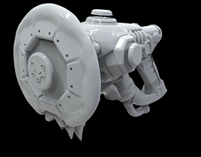 Lucio Snowfox weapon 3D PRINTABLE MODEL for cosplay