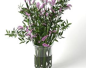 3D model Bouquet of Limonium