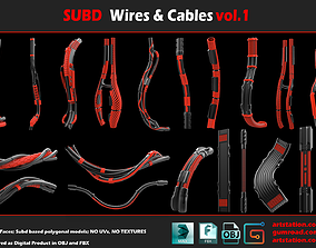 3D model Subd Cables and Wires vol 1