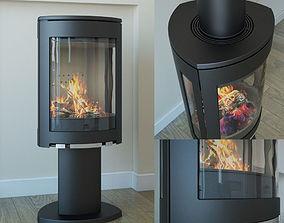 3D Fireplace Jotul F 373