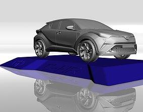 TOYOTA C-HR 2017 3D MODEL FOR 3D PRINTING STL FILES