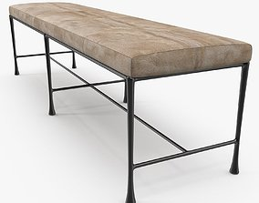 Christian Liaigre - Sud bench 3D model
