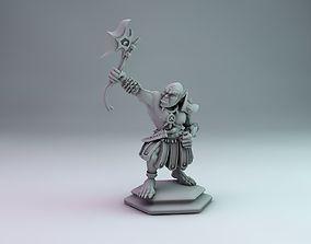 orc warrior 3D printable model