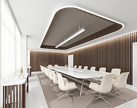 Fashion meeting room 3D model animated