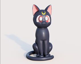 3D printable model Luna from Sailor Moon