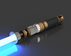 3D print model Eno Cordova Lightsaber Parts - Jedi Fallen