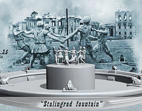 3D printable model Stalingrad Fountain - Children s 2