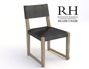 3D comfort RH Reade Side Chair Leather
