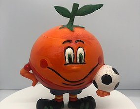 3D printable model figura de naranjito del mundial
