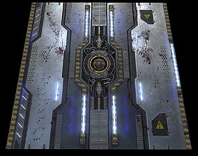 3D Space Floor Texture