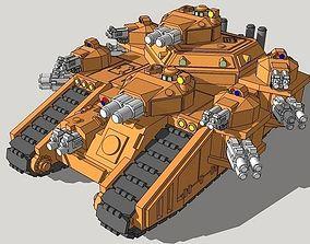 6mm StormMallet Superheavy Tank 3D printable model
