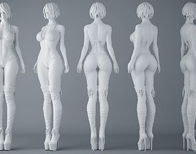 3D print model HD Sexy Bikini Girls