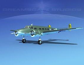 3D Lockheed C-37 US Army Air Force